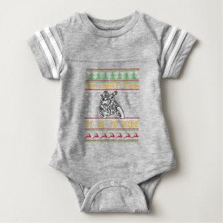 motorcycle design cut baby bodysuit