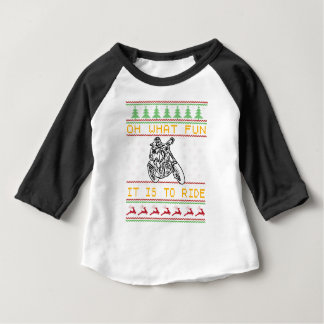 motorcycle design cut baby T-Shirt