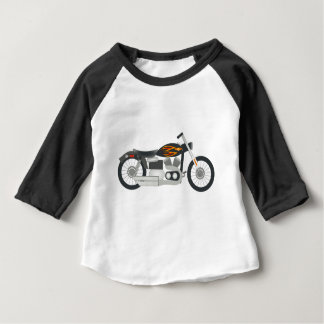Motorcycle Drawing Baby T-Shirt