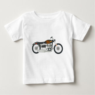 Motorcycle Drawing Baby T-Shirt