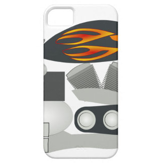 Motorcycle Drawing Case For The iPhone 5