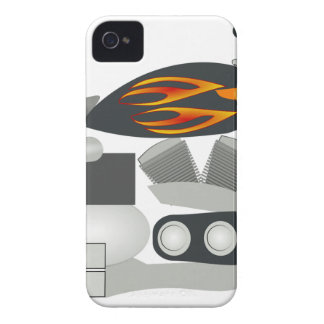 Motorcycle Drawing Case-Mate iPhone 4 Case