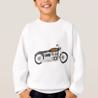 Motorcycle Drawing Sweatshirt
