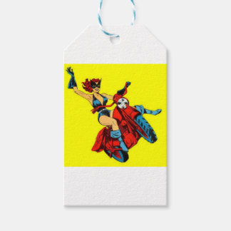 Motorcycle Girl Pack Of Gift Tags