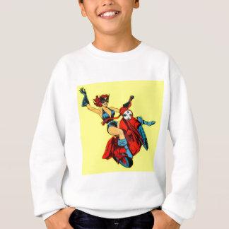 Motorcycle Girl Sweatshirt