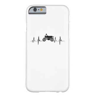 Motorcycle Heartbeat Biker Man Dad Gift Barely There iPhone 6 Case
