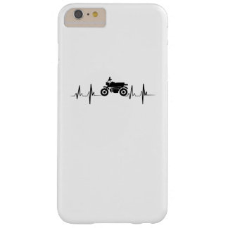 Motorcycle Heartbeat Biker Man Dad Gift Barely There iPhone 6 Plus Case
