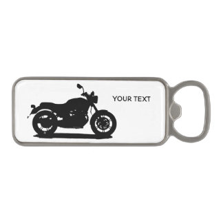 Motorcycle Magnetic Bottle Opener