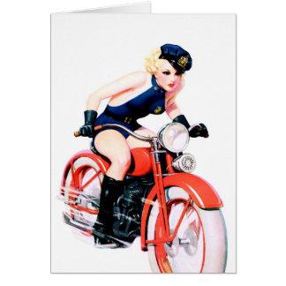 Motorcycle Mama Card