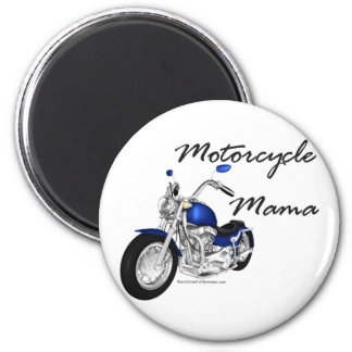 Motorcycle Mama Magnet