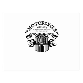 Motorcycle Mechanic Gift Bike Mechanic Biker Postcard