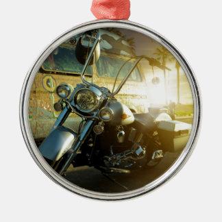 motorcycle metal ornament