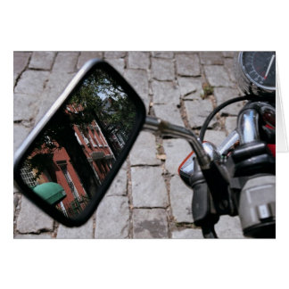 Motorcycle Mirror Card