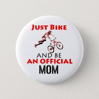 motorcycle mom 2 inch round button