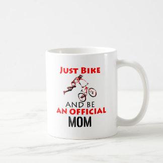motorcycle mom coffee mug
