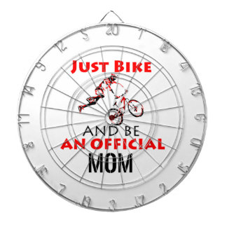 motorcycle mom dartboard