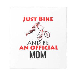motorcycle mom notepad