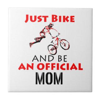motorcycle mom tile