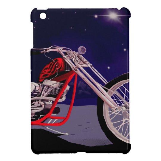 Motorcycle Moonlight Art Case For The iPad Mini