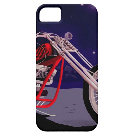 Motorcycle Moonlight Art iPhone 5 Cover