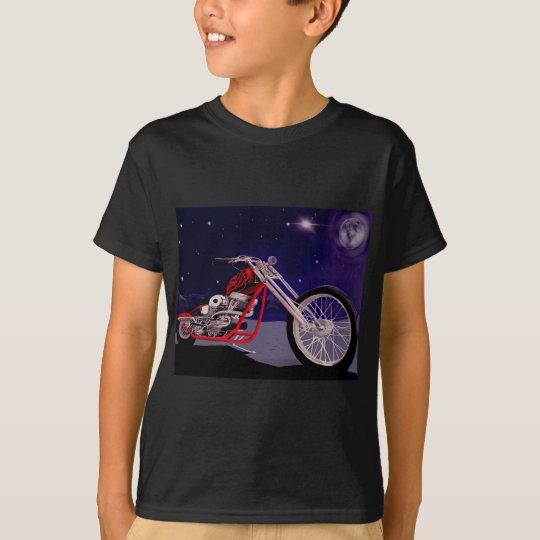 Motorcycle Moonlight Art T-Shirt