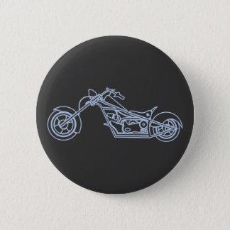 Motorcycle motorbike bike 2 inch round button
