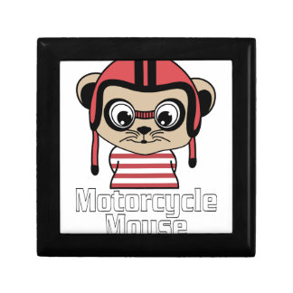 Motorcycle Mouse, rate cartoon vintage design Gift Box