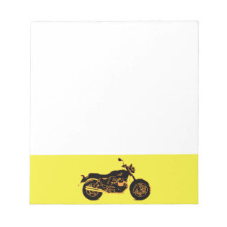 Motorcycle Notepad