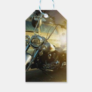 motorcycle pack of gift tags