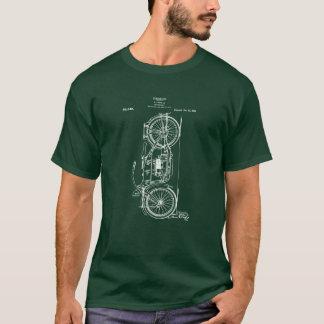 Motorcycle Patent Drawing 1919 T-Shirt