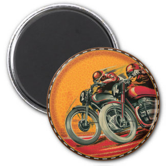Motorcycle Racers Magnet