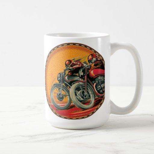Motorcycle Racers Coffee Mug