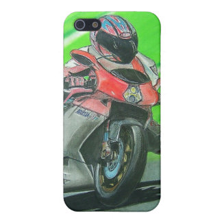 Motorcycle racing themed iPhone case Cover For iPhone 5/5S