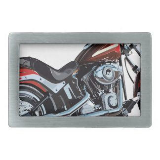 motorcycle rectangular belt buckle