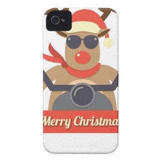 motorcycle  reindeer iPhone 4 cover