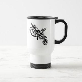 Motorcycle Rider Stainless Steel Travel Mug