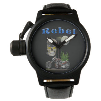 motorcycle riders merchandise wristwatch