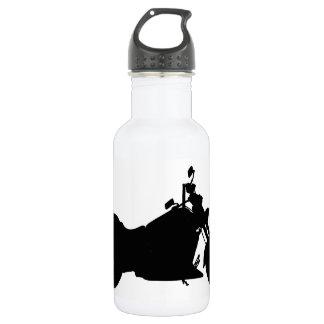 Motorcycle Silhouette 532 Ml Water Bottle