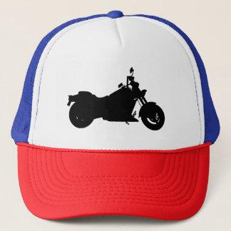 Motorcycle Silhouette Trucker Hat