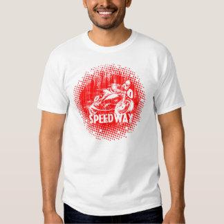 Motorcycle Speedway Racer Tshirt