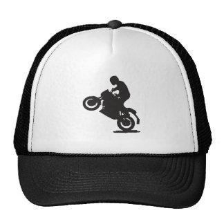 MOTORCYCLE STUNTS SPORTS  GROUND TRANSPORTATION SP TRUCKER HAT