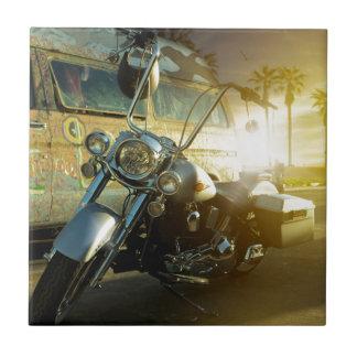 motorcycle tile