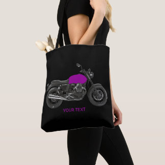 Motorcycle Tote Bag