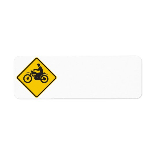 Motorcycle Traffic Highway Sign
