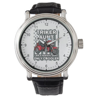 Motorcycle Triker Aunt Watch