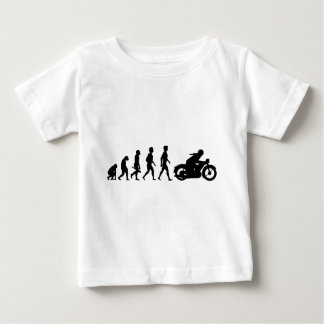 Motorcycle two-wheeler Bike Biker moped CROSS Baby T-Shirt
