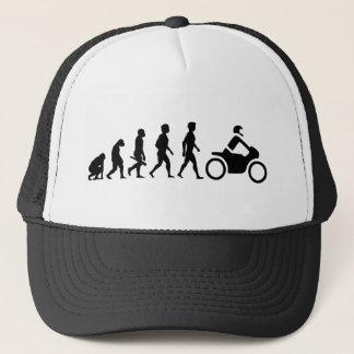 Motorcycle two-wheeler Bike Biker moped CROSS Trucker Hat