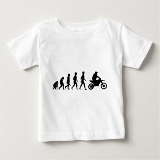Motorcycle two-wheeler Bike Biker moped moped Baby T-Shirt