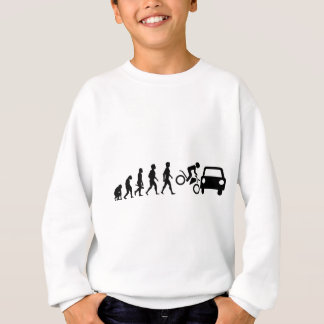 Motorcycle two-wheeler Bike Biker moped moped Sweatshirt