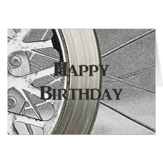 Motorcycle Wheel and Brake Card